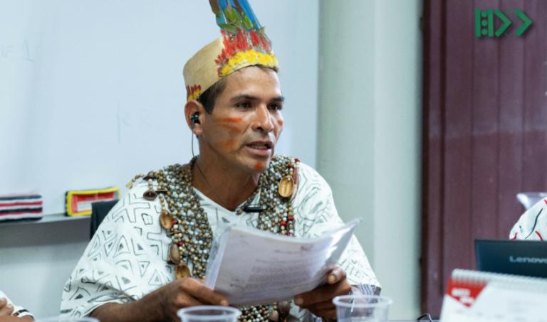 El líder indígena Arbildo Meléndez fue asesinado el domingo 12 de abril. Foto: Aidesep.